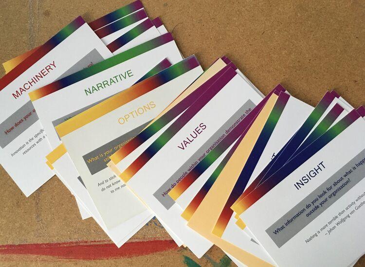 Organisational renewal cards