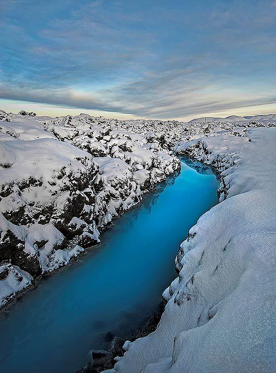 Winter at Blue Lagoon