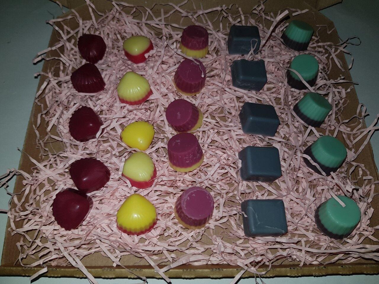 Mixed Sweet scented wax melt box