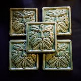 OLD GREEN MAN WALL TILE