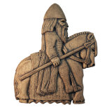 VIKING HORSEMAN PLAQUE