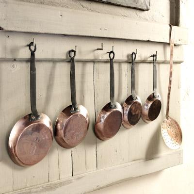 Copper Pans No 2
