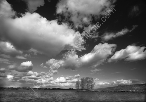 Clouds over Rutland Water