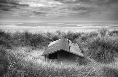 Sunken Beach Hut