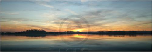 Sunset at Rutland Water