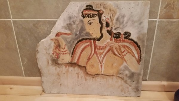mycenaean lady