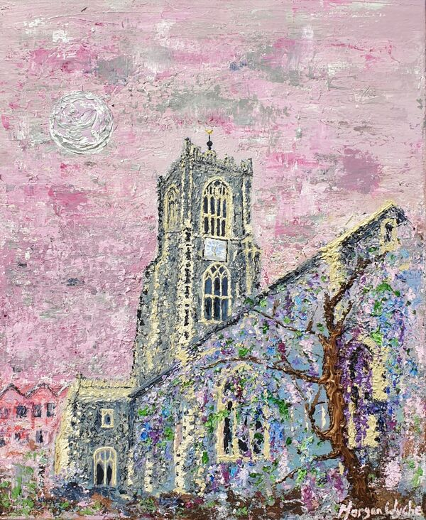 St Giles on-the-Hill in Wisteria
