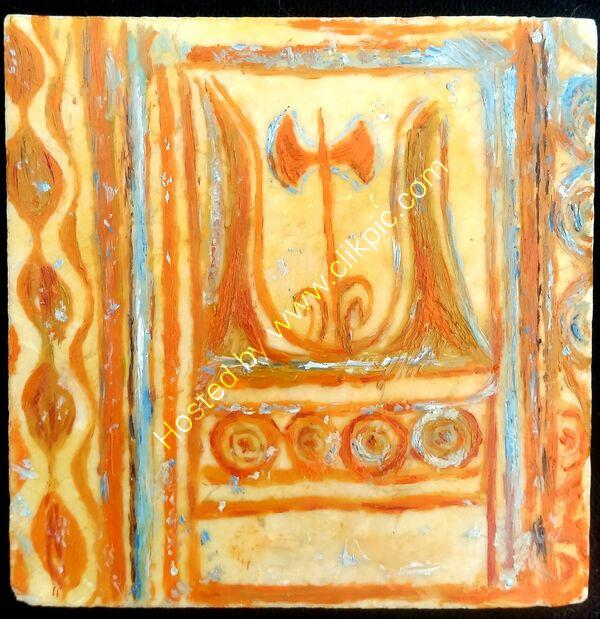 minoan double axe (the labrys)