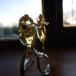 Swarvoski Seahorses by Anne Richards