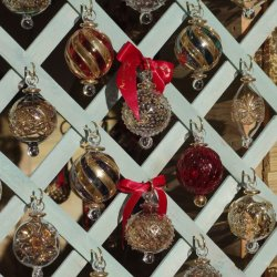 Christmas Baubles by Sharon Thomas
