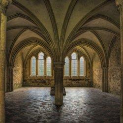 Abbey Interior by John Crowland