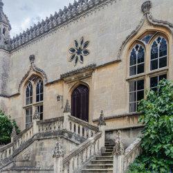 Abbey Steps by Brian Challis