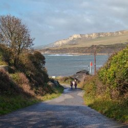 Approach to Kimmeridge by Janet Cox