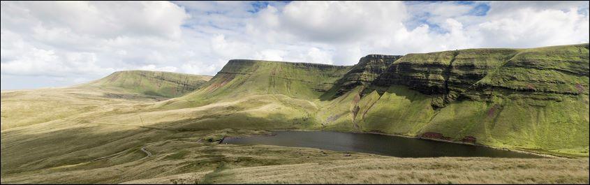 Bannau Sir Gaer panorama by Iain mcCallum