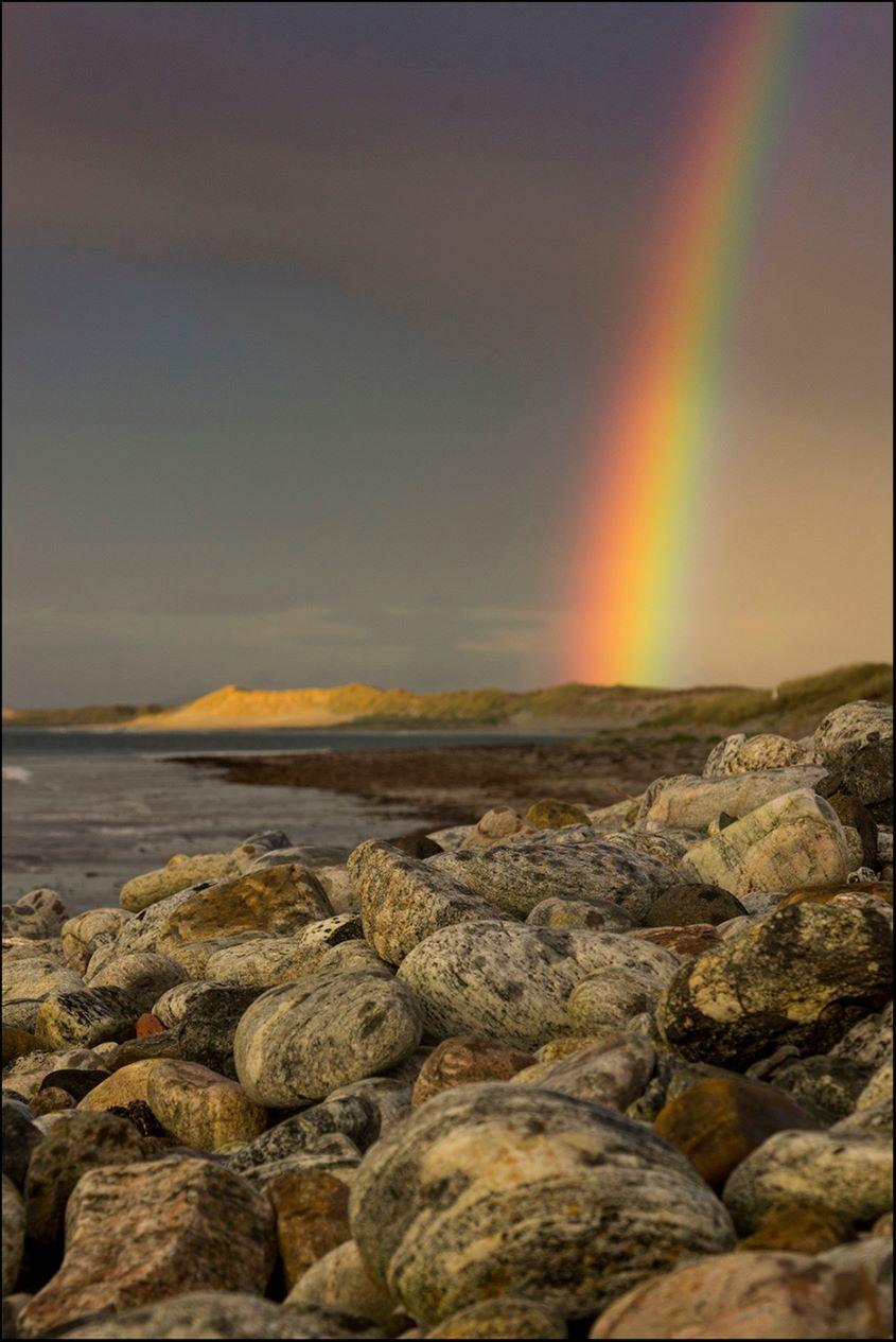 Beach Rainbow by Iain McCallum