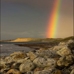 Beach Rainbow by Iain McCallum