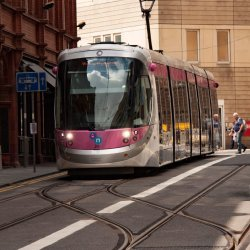 Birmingham tram Janet Cox