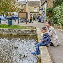 Bourton on the Water by Alison Stace