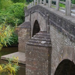 Bridge at Skenfrith by Sharon Thomas