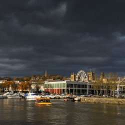 Bristol Waterfront by Alison Stace
