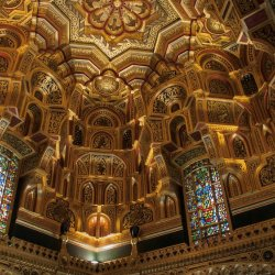Cardiff Castle Interior by Alison Stace