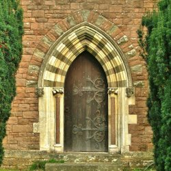 Caroline Entrance by Arthur Winch
