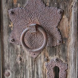 Church door by Janet Cox