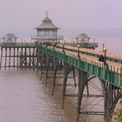 Clevedon Pier by Janet Cox