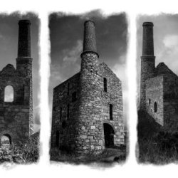 Cornish Tin Mines by Iain McCallum