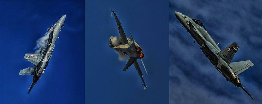 F18 Hornet Triptych