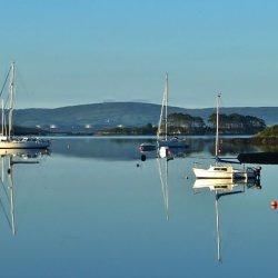 Glengareth Bay by Arthur Winch