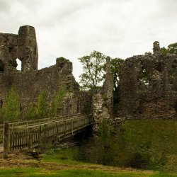 Grosmont Castle by Jackie Poulter