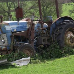 Hedgerow Tractor