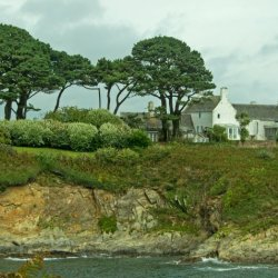 House on Cliff by Jackie Poulter