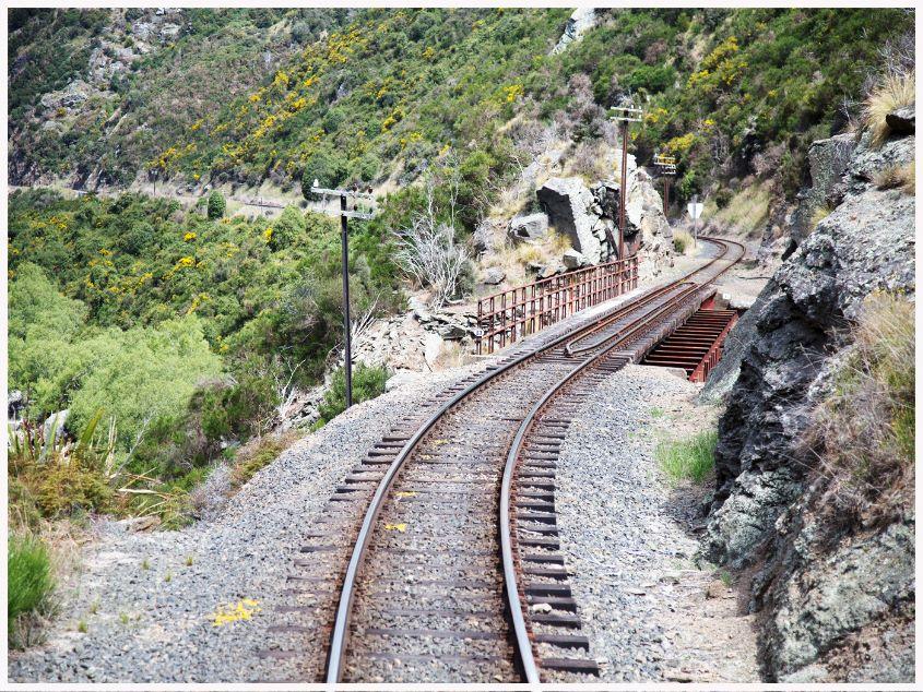 Italian Railway by Tony Cutting