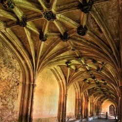 Lacock Cloister by Keith Sharples