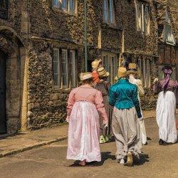 Lacock Street Scene by John Crowland