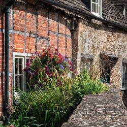 Lacock Village by Lyn Sharples
