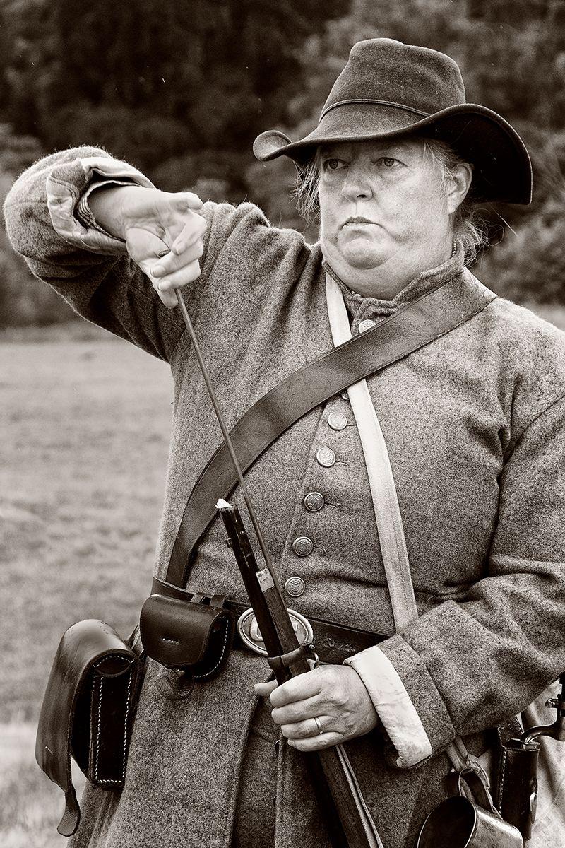 Lyn Sharples Hampton Soldier