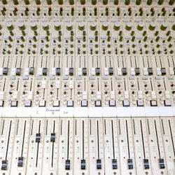 Mixing desk by Chris Morris
