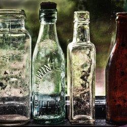 Old Bottles by Lyn Sharples