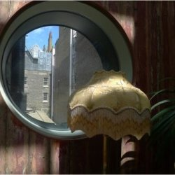 Porthole Royal Academy by Janet Cox