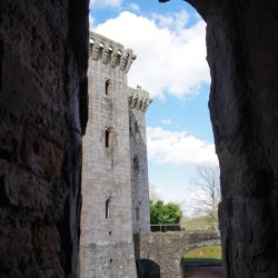 Raglan Castle No1 by Sharon Thomas