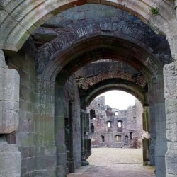 Raglan Castle No2 by Sharon Thomas