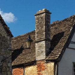 Roof in Lacock by Brian Challis