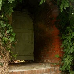 Secret Door by Jackie Poulter