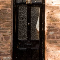Skenfrith door by James Mason