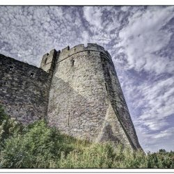 castle in the sky by Chris Morris