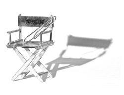 Directors chair by Chris Morris