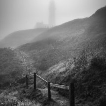 Sea Mist at Flamborough Head, East Yorkshire, UK